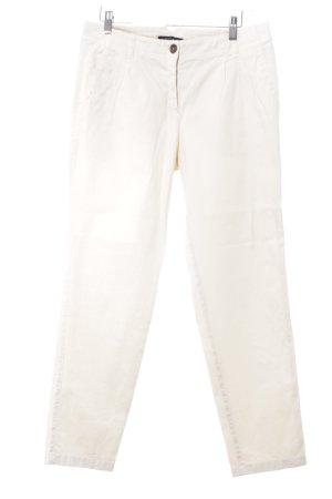 Marc Cain Pantalone Capri crema elegante