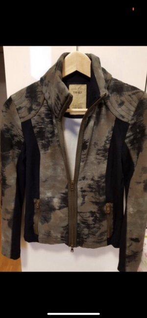 Marc Cain Shirt Jacket black-green grey