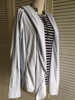 MARC CAIN Cardigan Jacket N6 hellblau grau Casual-Look