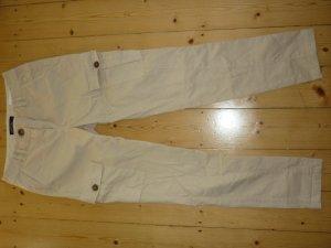 MARC CAIN Cargo Hose, beige, Größe 34 (N1), NEUWERTIG