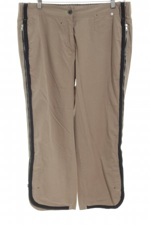 Marc Cain Cargo Pants brown-black casual look