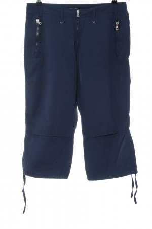 Marc Cain Cargo Pants blue casual look