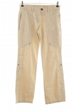 Marc Cain Cargo Pants cream casual look