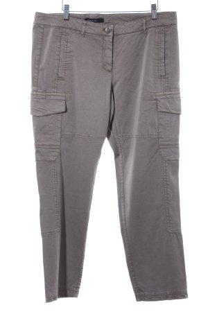 Marc Cain Pantalon cargo gris brun style boyfriend