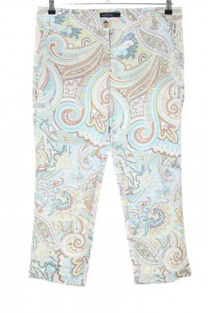 Marc Cain Chinos abstract pattern extravagant style