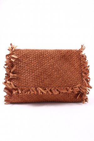 Marc Cain Clutch cognac Hippie-Look