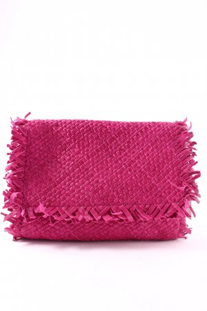 Marc Cain Clutch magenta Hippie-Look