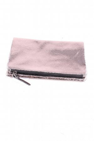 Marc Cain Clutch silberfarben Glanz-Optik