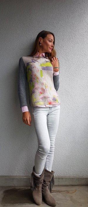 Marc Cain Collections  Pullover aus Schurwolle und Alpaka