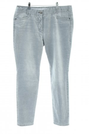 Marc Cain Corduroy Trousers blue casual look