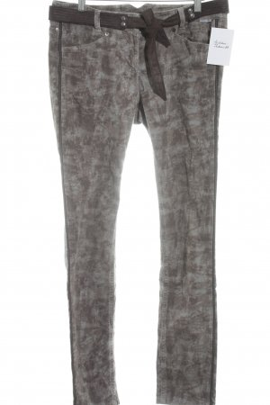 Marc Cain Cordhose abstraktes Muster Casual-Look
