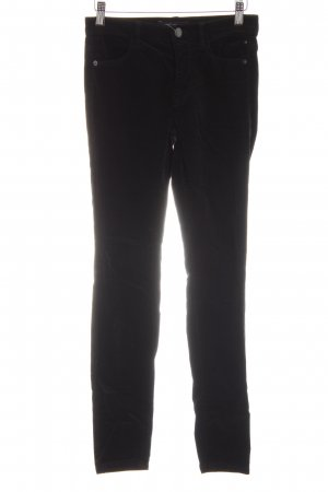 Marc Cain Corduroy Trousers black casual look