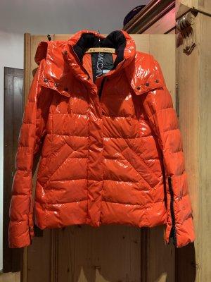 Marc Cain Piumino rosso-arancione
