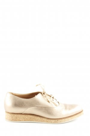 Marc Cain Derby goldfarben Casual-Look