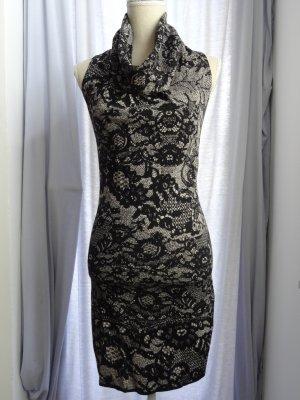 Marc Cain: Enganliegendes, elegantes, ärmelloses Kleid; Gr. N1