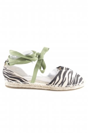 Marc Cain Espadrille Sandals animal pattern casual look
