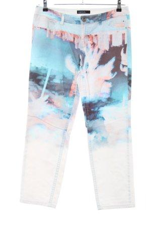 Marc Cain Pantalon cinq poches motif abstrait style décontracté