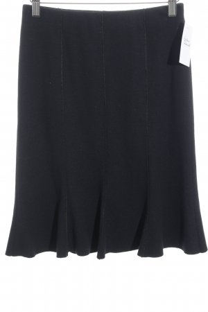 Marc Cain Godet Skirt black business style