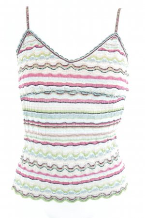 Marc Cain Crochet Top multicolored hippie style