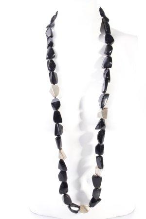 Marc Cain Halskette schwarz-silberfarben