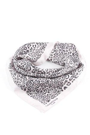 Marc Cain Neckerchief dusky pink-black leopard pattern business style