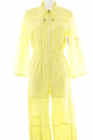 Marc Cain Leisure suit neon yellow casual look