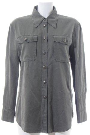 Marc Cain Hemd-Bluse khaki Used-Optik
