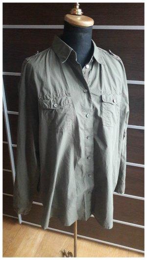 Marc Cain Shirt met lange mouwen khaki