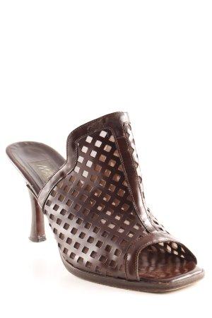 Marc Cain High Heel Sandaletten dunkelbraun Elegant