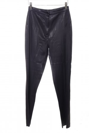 Marc Cain High Waist Trousers black extravagant style