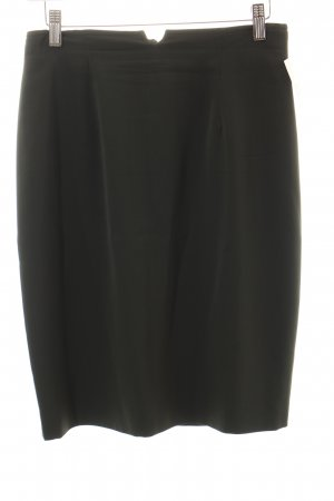Marc Cain High Waist Rock dunkelgrün Business-Look