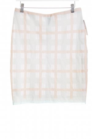 Marc Cain High Waist Skirt check pattern retro look
