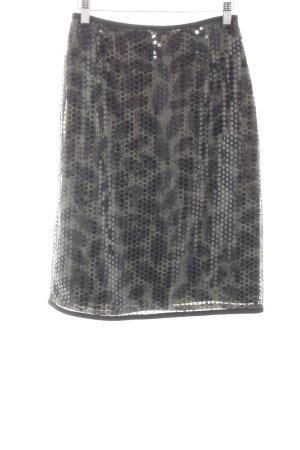 Marc Cain High Waist Skirt spot pattern extravagant style