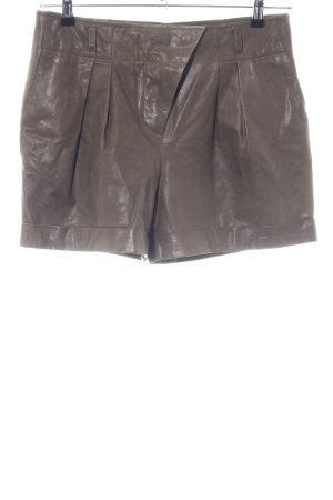 Marc Cain High-Waist-Shorts brown casual look