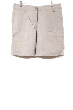 Marc Cain High-Waist-Shorts sandbraun Casual-Look
