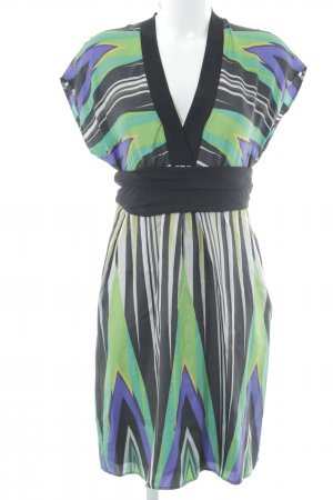 Marc Cain Hippie Dress abstract pattern Boho look