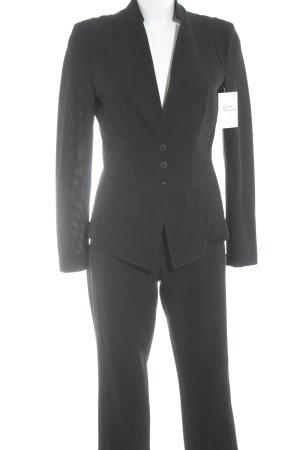 Marc Cain Tailleur pantalone nero stile professionale