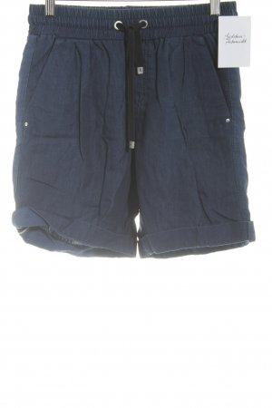 Marc Cain Hot Pants dunkelblau Casual-Look