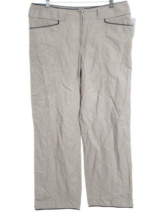 Marc Cain Hüfthose beige-schwarz Casual-Look
