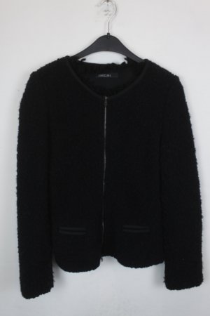 Marc Cain Giacca di lana nero Tessuto misto