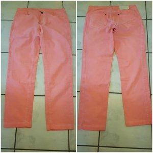 Marc Cain Stretch jeans abrikoos-zalm