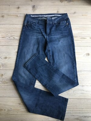 Marc Cain Tube Jeans steel blue