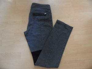 MARC CAIN Jeans N4 (40/42) grau shabby Reiterstil lang