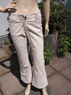 Marc Cain, Jeanshose, beige, Größe XS/S