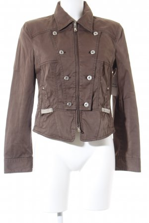 Marc Cain Jeansjacke braun Casual-Look