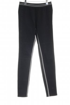Marc Cain Jeggings nero stile atletico