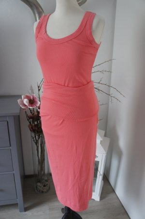 MARC CAIN Kleid Größe 38 40 altrosa