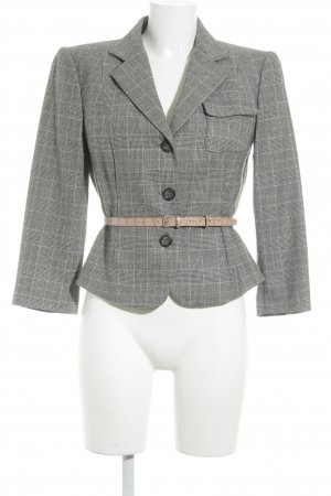 Marc Cain Kurz-Blazer Glencheckmuster Business-Look