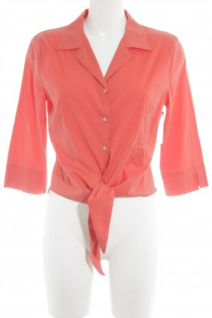 Marc Cain Kurzarm-Bluse lachs Business-Look