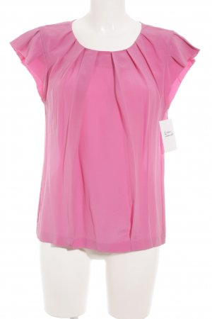 Marc Cain Kurzarm-Bluse pink Elegant
